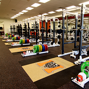 The Homer And Ruth Drake Fieldhouse Weight Room Is A 5000 Square Foot Space Featuring
