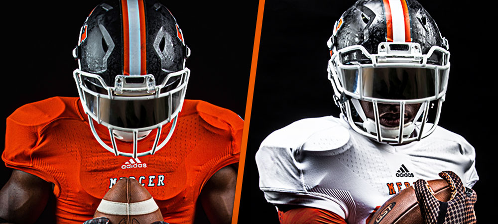quality design f622a c8447 Game Worn Mercer Football Jerseys Now on Sale - Mercer ...