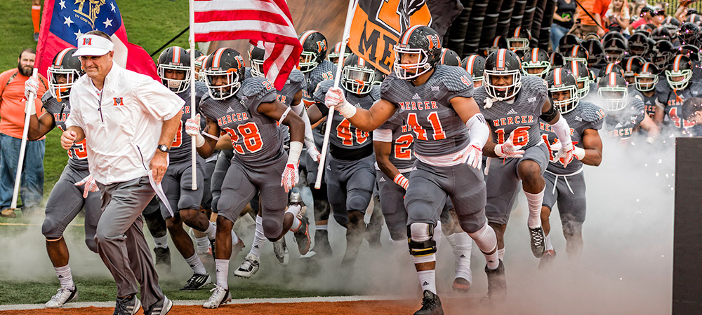 Mercer Football Unveils 2016 Schedule Mercer University Athletics