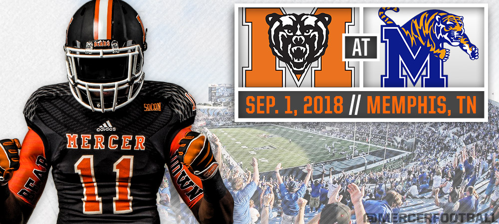 Mercer Football To Open 2018 Season At Memphis Mercer University